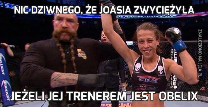 Nic dziwnego, że Joasia zwyciężyła