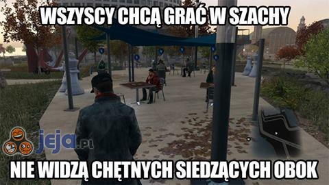 Szachy w Watch Dogs