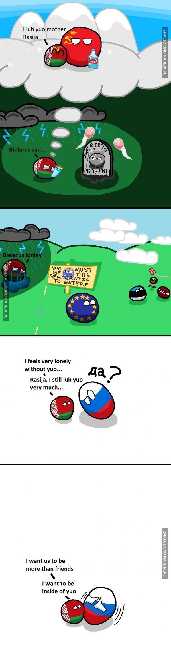 Białoruś tęskni za Rosją...