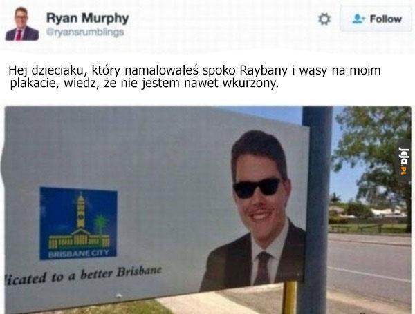 Wyluzowany polityk