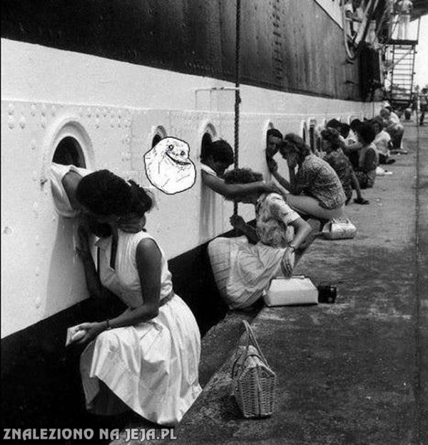 Pożegnanie marynarzy