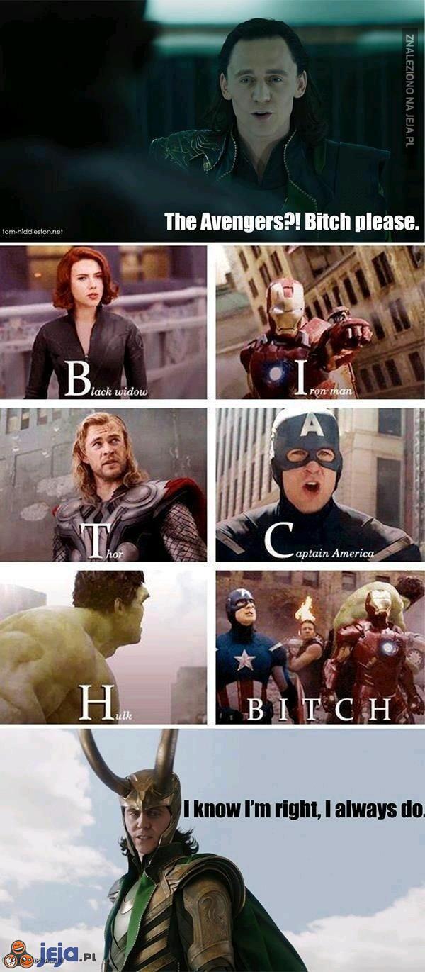 Prawdziwa nazwa Avengersów