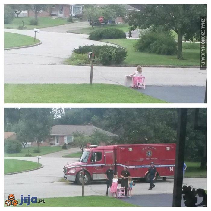 Strażacy to spoko goście