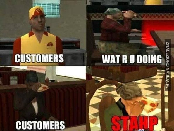 Kliencie, nie rób tego!