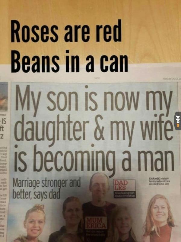 Wierszyk o dziwnej rodzinie