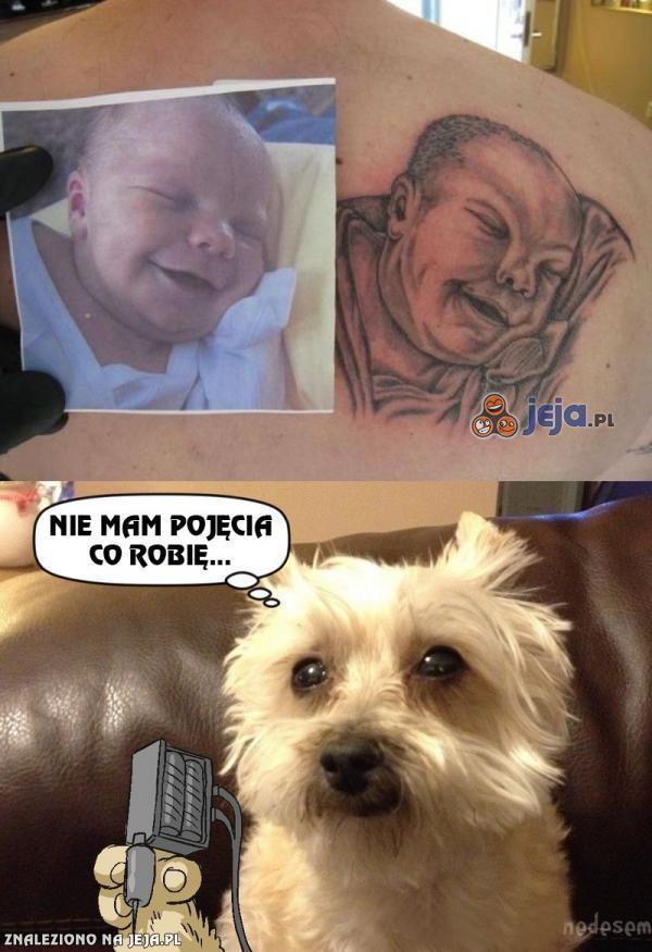 Trzeba było iść do innego tatuażysty...