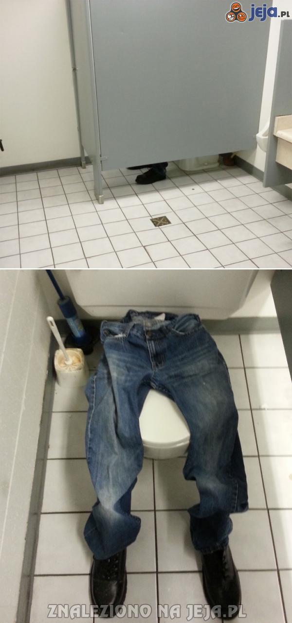 Kawał w toalecie