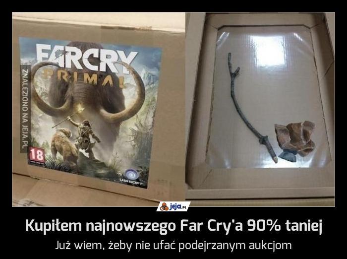 Kupiłem najnowszego Far Cry'a 90% taniej