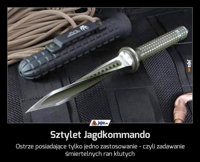 Sztylet Jagdkommando
