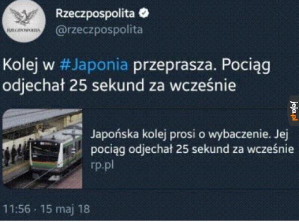 Bierzmy przykład z Japonii