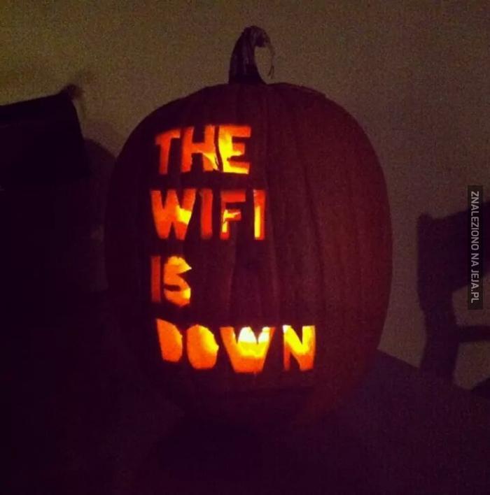 Najstraszniejsza halloweenowa dynia ever