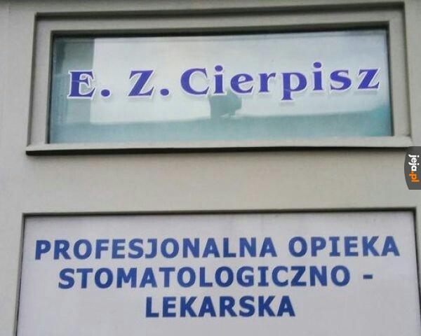 Idealne nazwisko dla dentysty