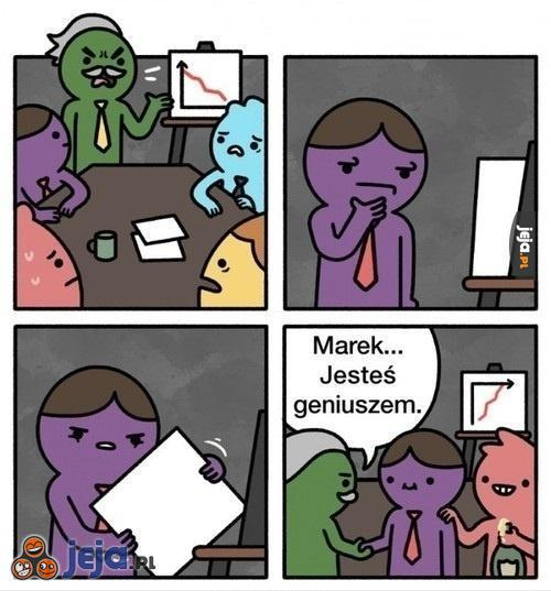 Marek pracownikiem miesiąca