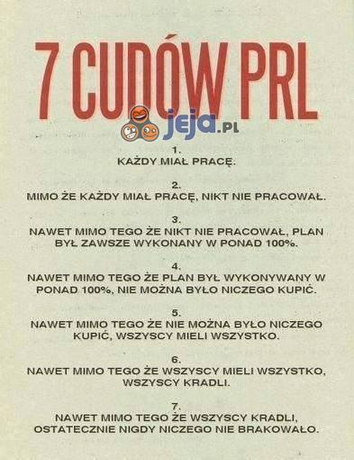 7 cudów PRL