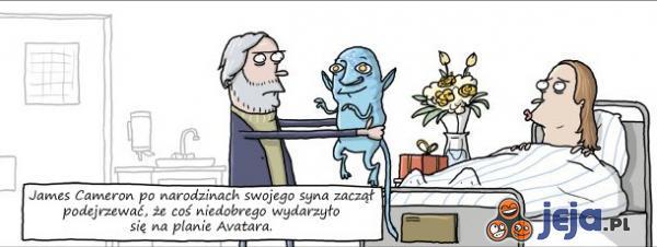 Wpadka na planie Avatara