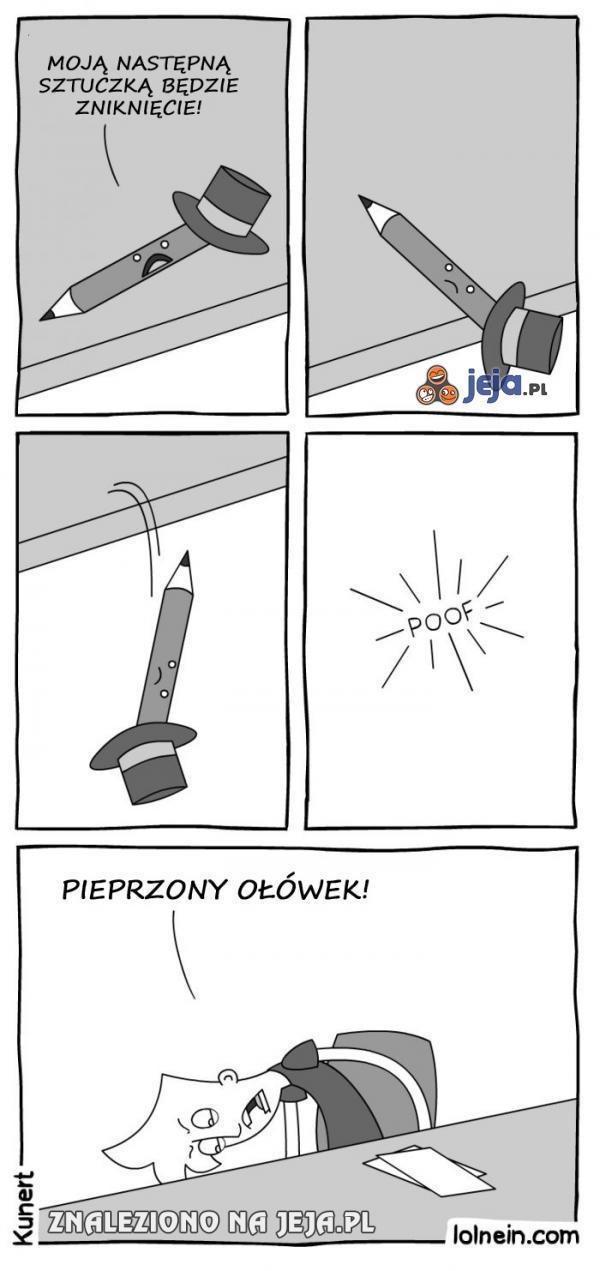 Proszę państwa, czarodziejski ołówek!