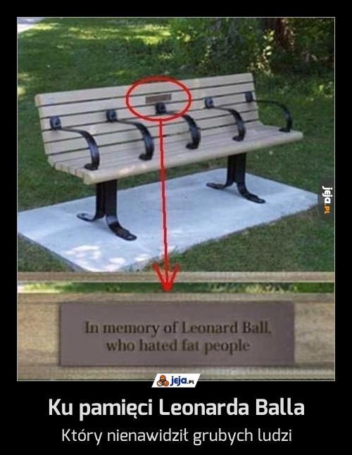 Ku pamięci Leonarda Balla