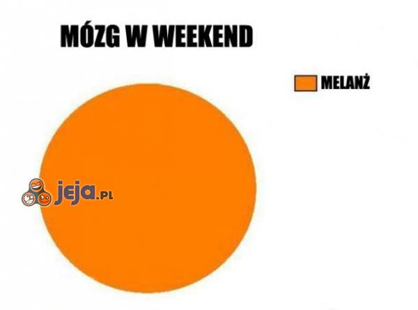 Mózg w weekend