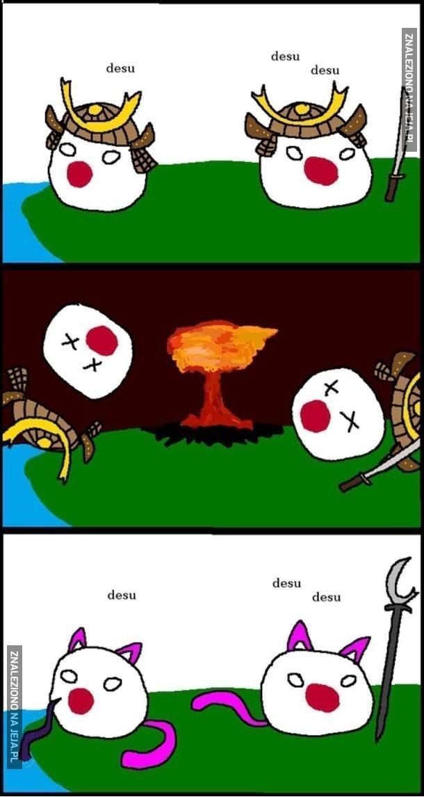 Japonia przed i po bombie