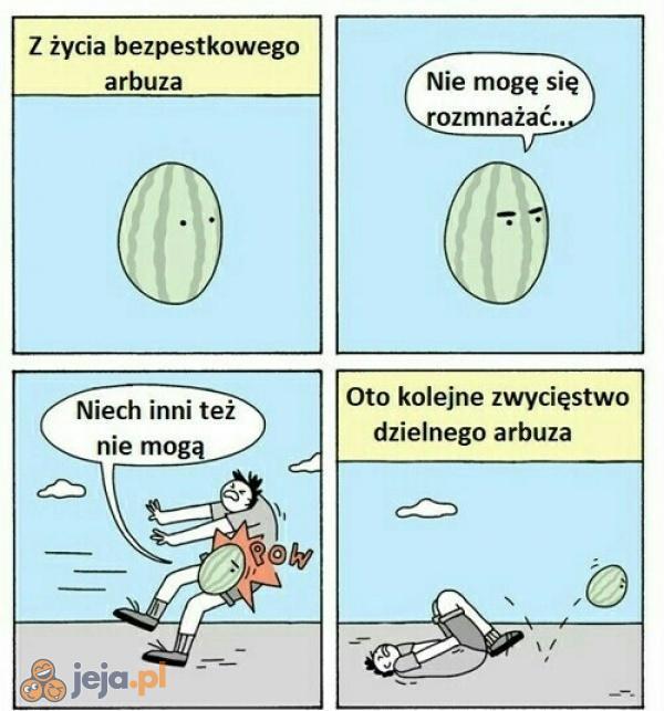 Zawistny arbuz