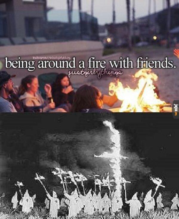 Nie ma to jak ognisko z przyjaciółmi