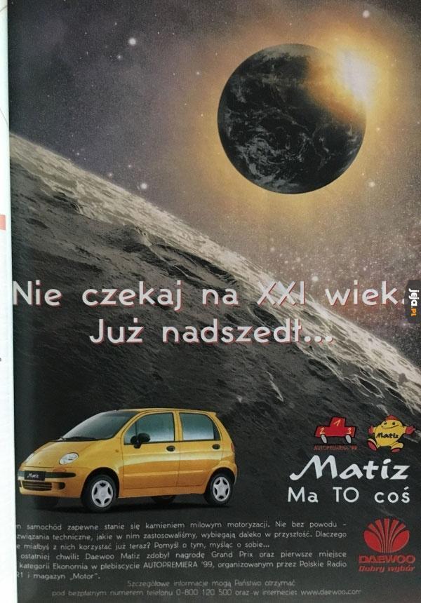 Stara reklama Matiza