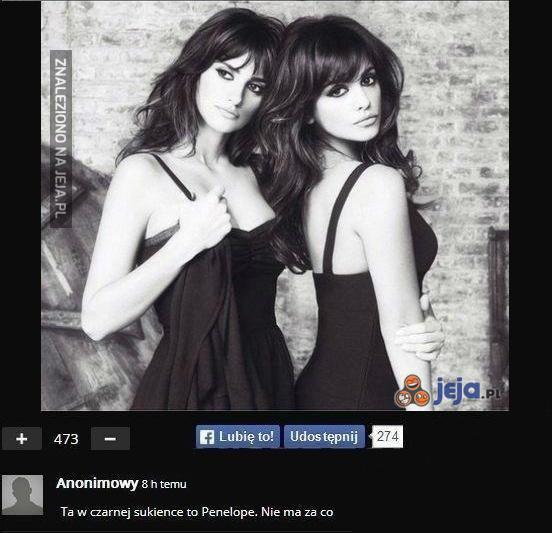 Siostry Penelope i Monica Cruz