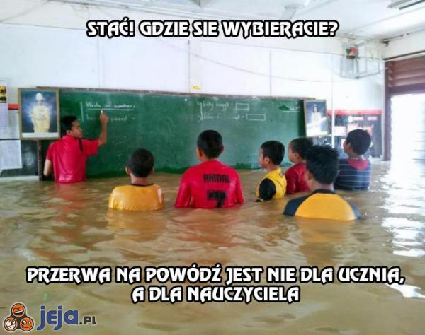 Przerwa na powódź
