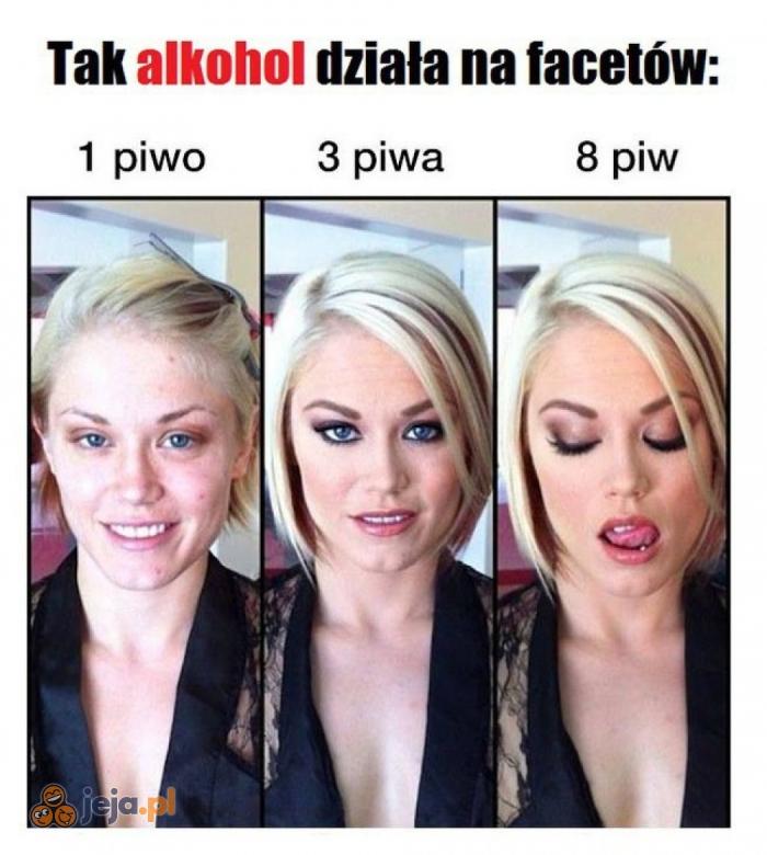 Działanie alkoholu