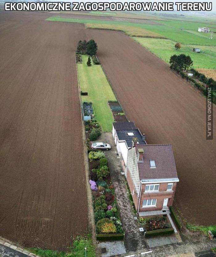 Ekonomiczne zagospodarowanie terenu