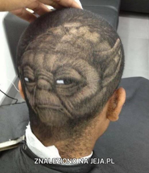 Talent wielki w tym fryzjerze wyczuwam