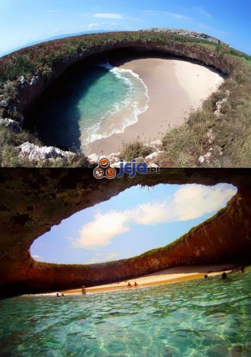Magiczna plaża...