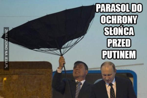 Parasol do ochrony przed Putinem