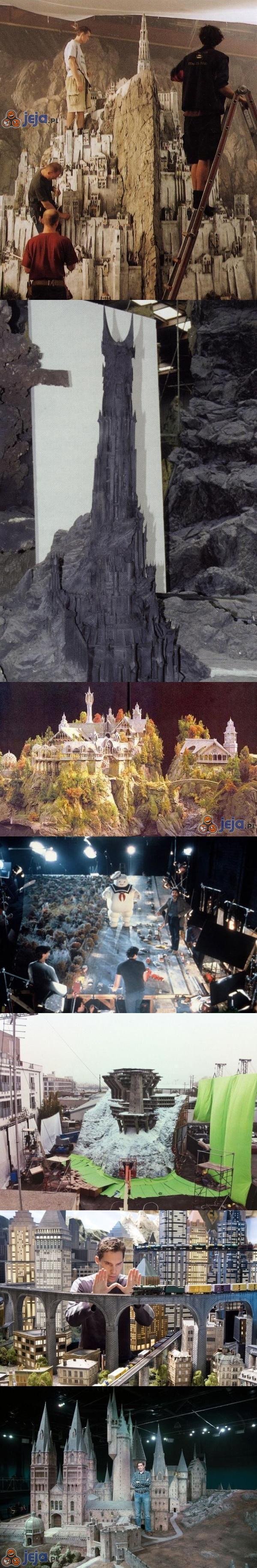 Miniaturowe plany filmowe