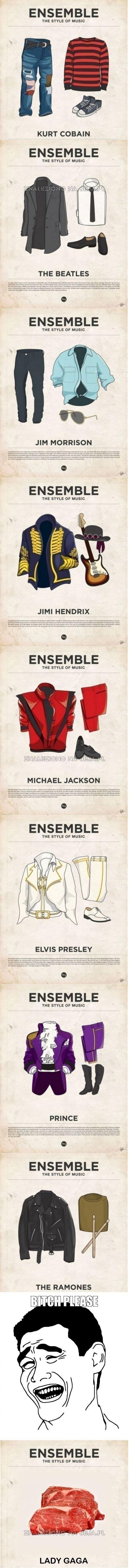 Muzyczne style ubioru