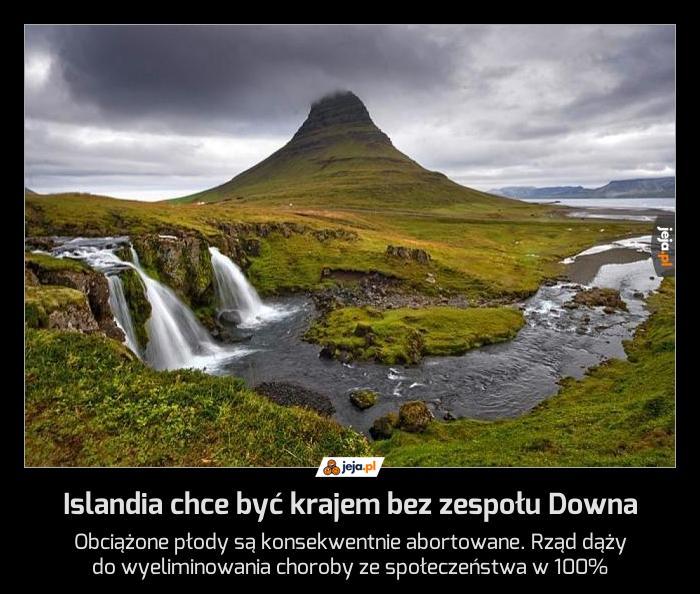 Islandia chce być krajem bez zespołu Downa