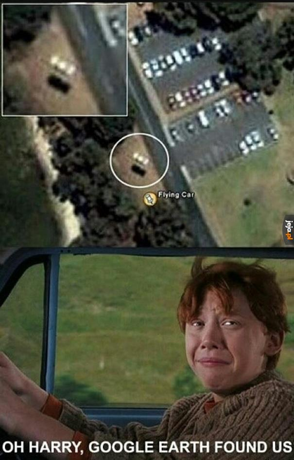 Harry Potter i Google Maps