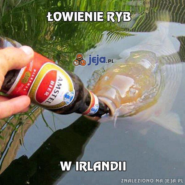 Łowienie ryb w Irlandii