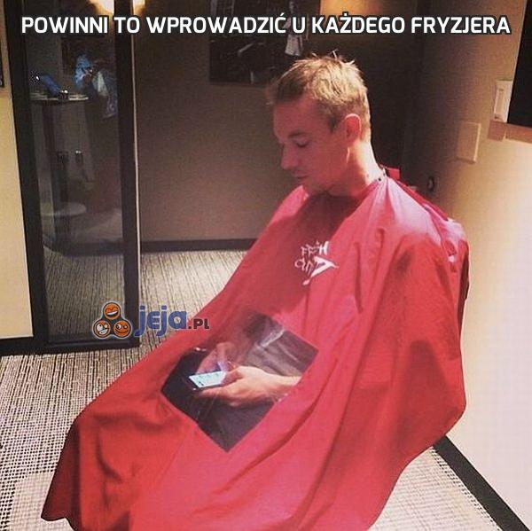Powinni to wprowadzić u każdego fryzjera