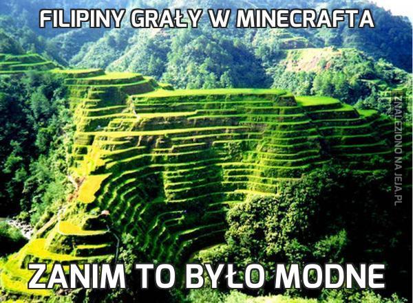 Filipiny grały w Minecrafta