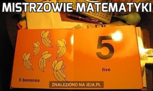 Mistrzowie matematyki