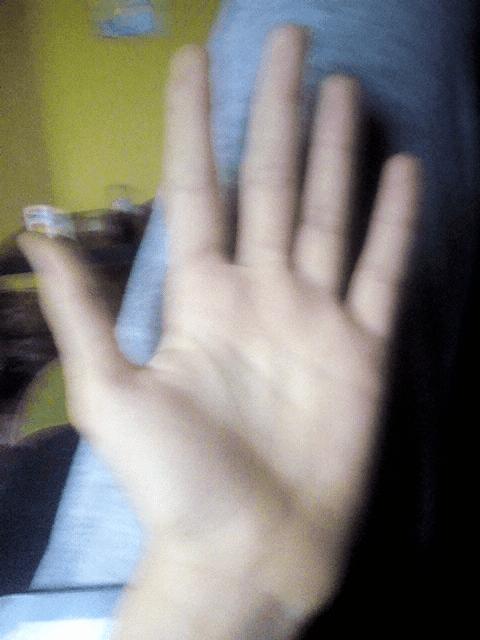Opętany palec