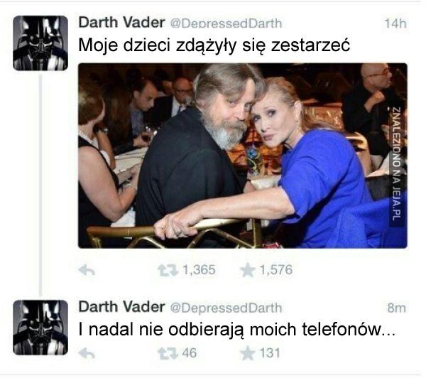 Biedny Vader...