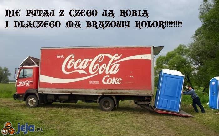 Coca Cola - dlaczego ma taki kolor?