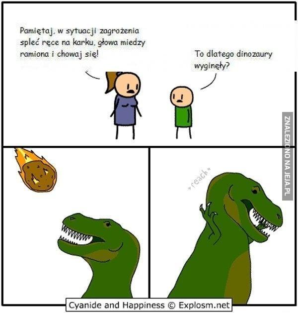 To dlatego dinozaury wyginęły?