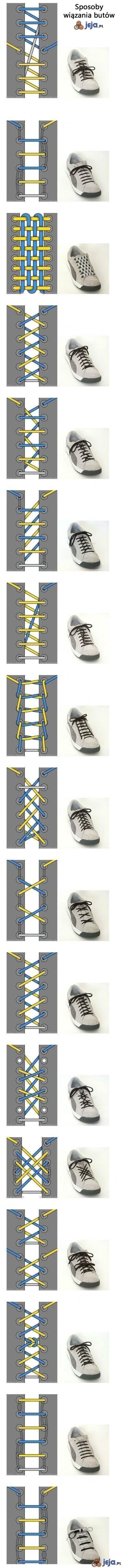 Sposoby wiązania butów