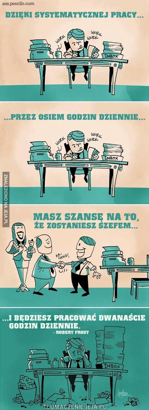Pracuj, bądź posłuszny...