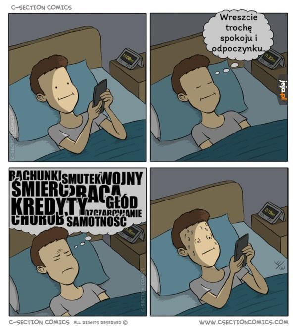 Gdy chcesz spać