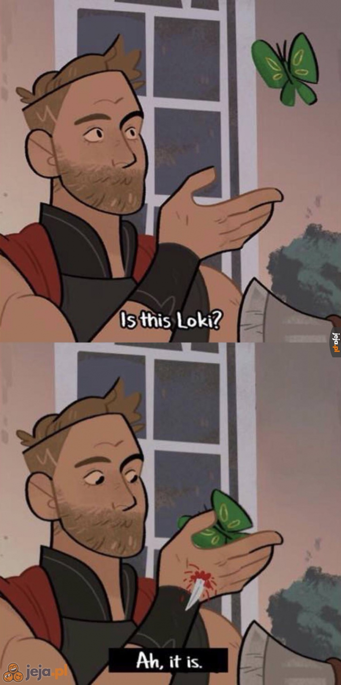 Tak, to z pewnością Loki