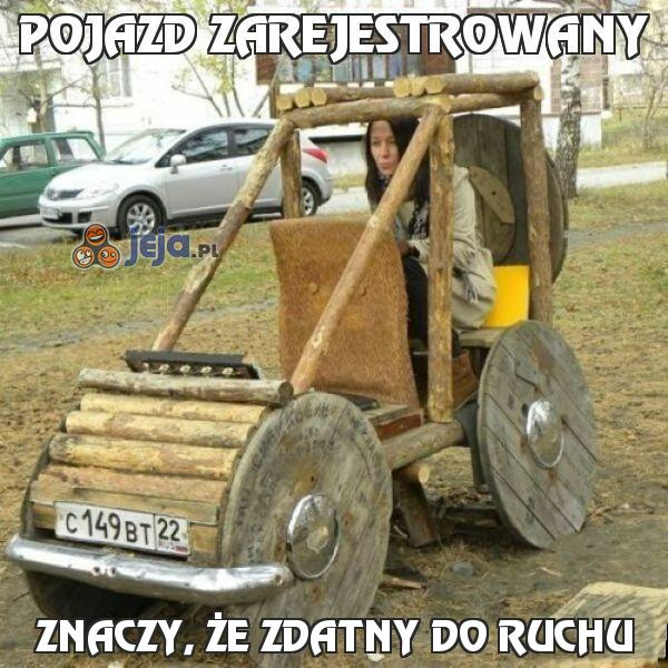 Pojazd zarejestrowany